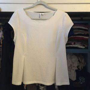 *Donated-Elle XL peplum shirt